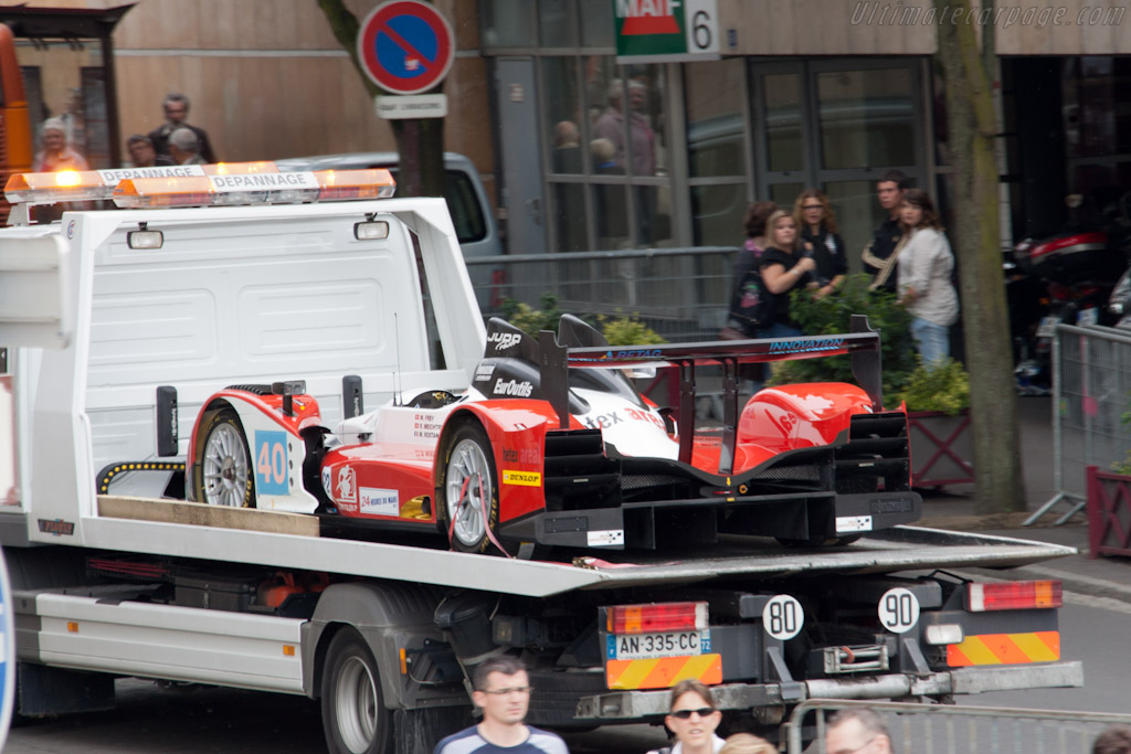 Back to the track - Chassis: 02   - 2011 24 Hours of Le Mans