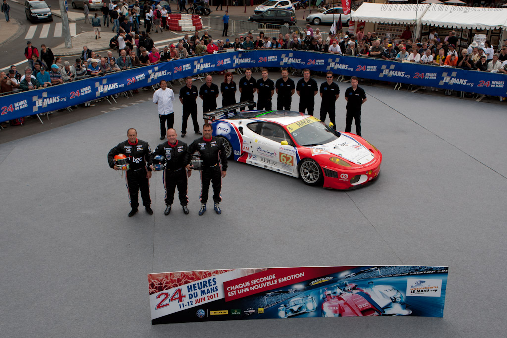 CRS Ferrari - Chassis: 2612   - 2011 24 Hours of Le Mans