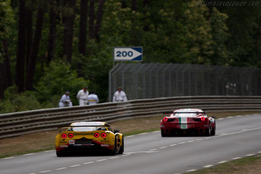Chevrolet Corvette C6.R GT2 - Chassis: 001   - 2011 24 Hours of Le Mans