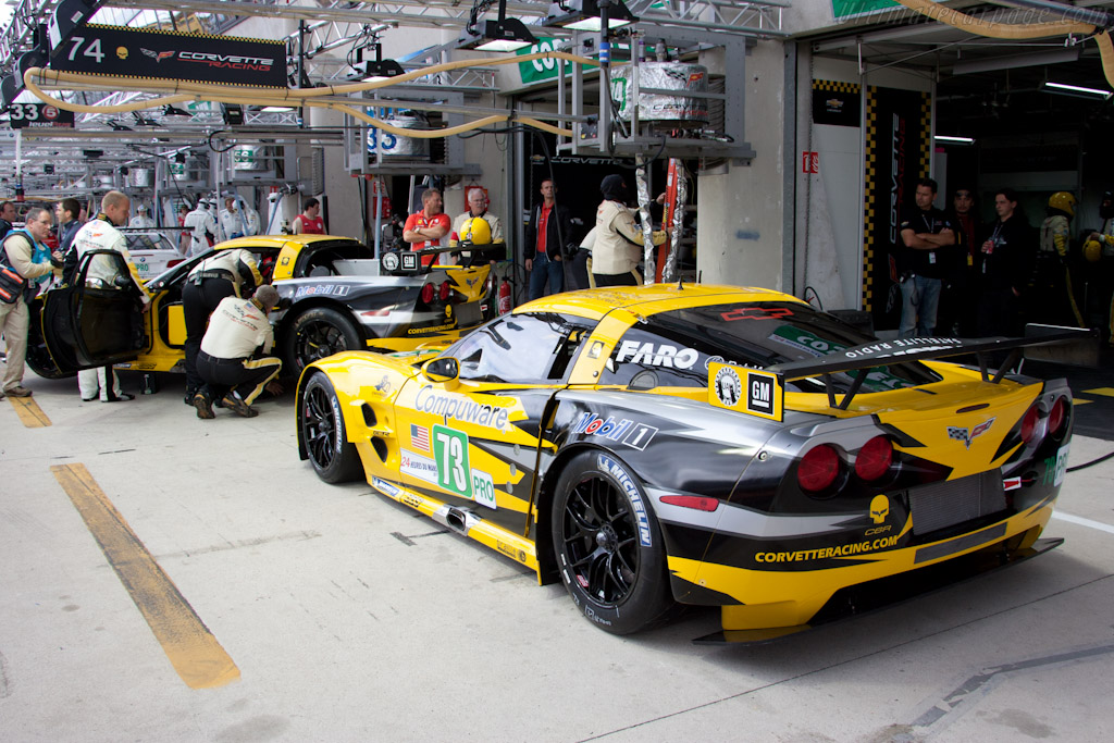 Chevrolet Corvette C6.R GT2 - Chassis: 003   - 2011 24 Hours of Le Mans