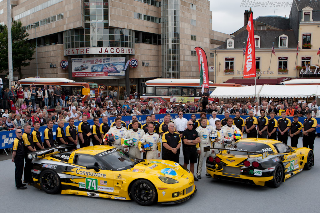 Corvette Racing - Chassis: 004   - 2011 24 Hours of Le Mans