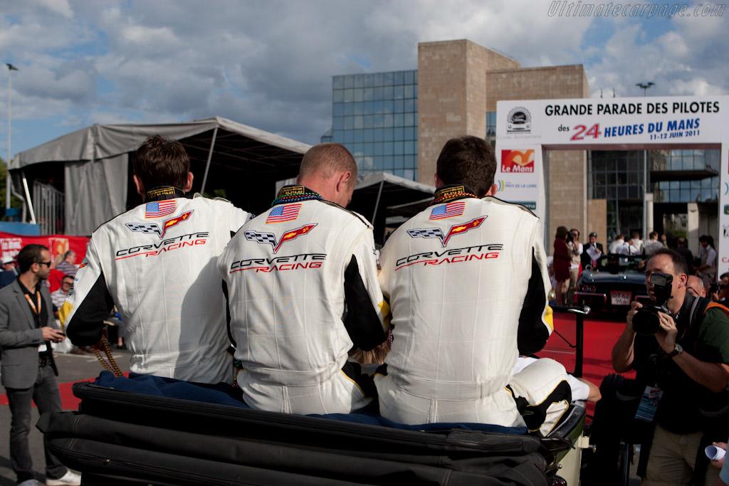 Corvette drivers    - 2011 24 Hours of Le Mans