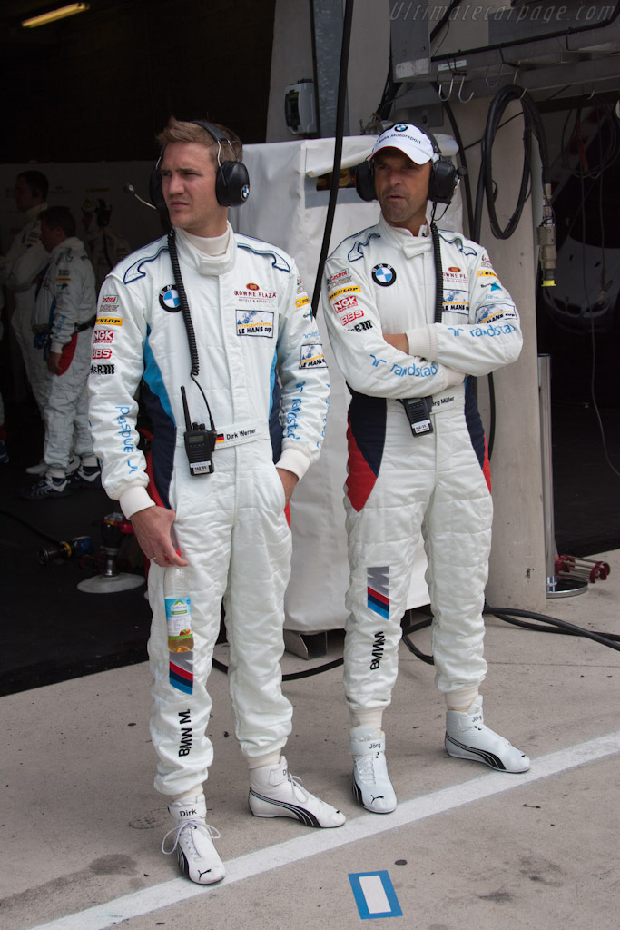 Dirk Werner and Jorg Muller    - 2011 24 Hours of Le Mans