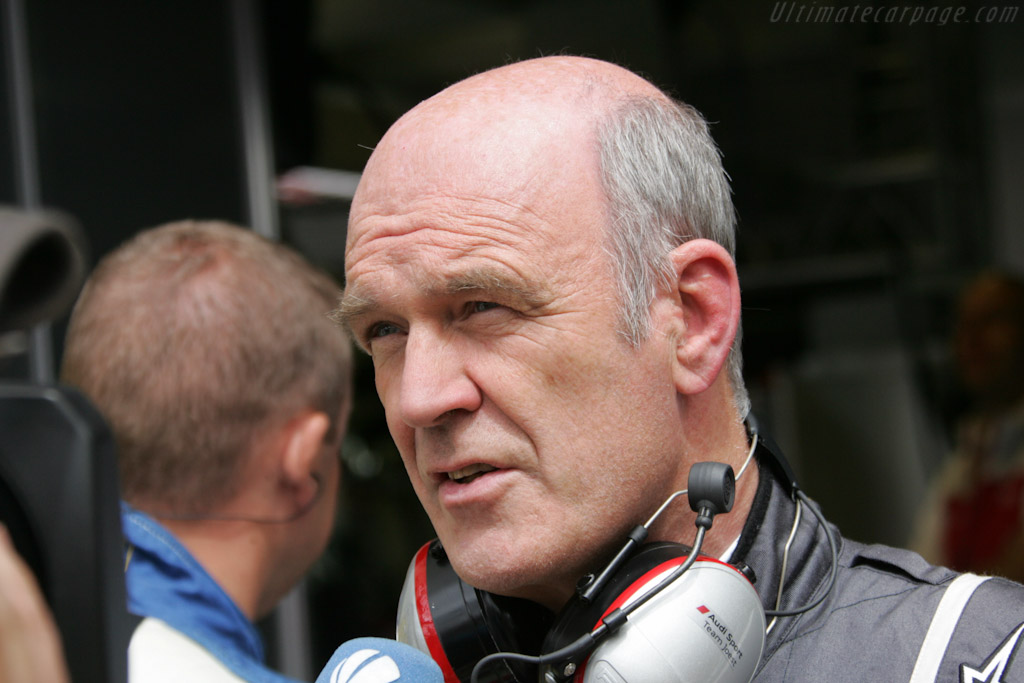 Dr Ulrich relieved after ..    - 2011 24 Hours of Le Mans