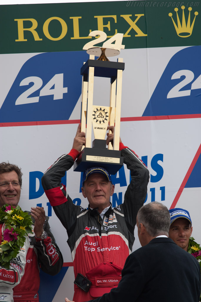 Dr Wolfgang Ulrich   - 2011 24 Hours of Le Mans