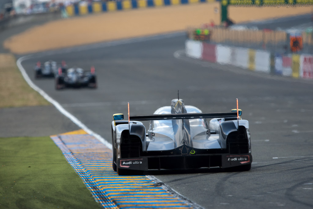 Early Audi steamroller - Chassis: 105  - 2011 24 Hours of Le Mans