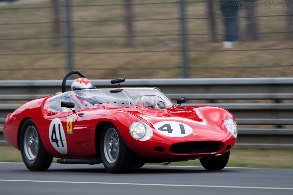 Ferrari 246 S Dino - Chassis: 0784   - 2011 24 Hours of Le Mans