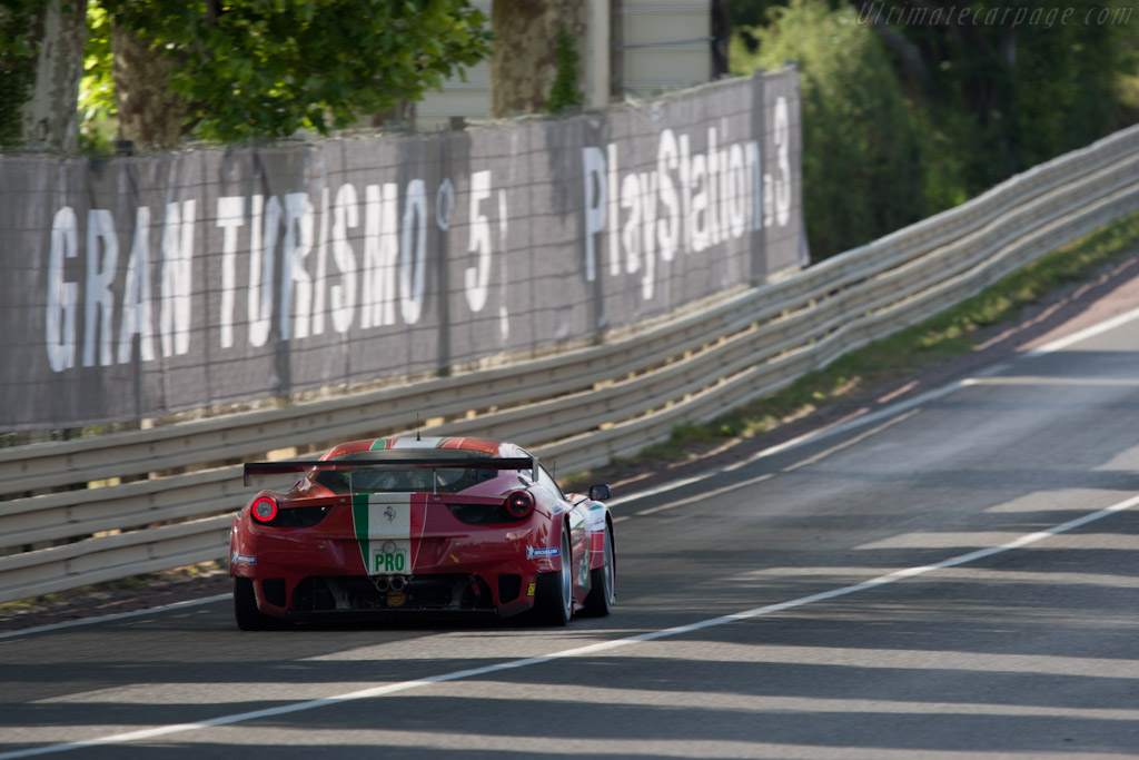 Ferrari 458 Italia GT - Chassis: 2826   - 2011 24 Hours of Le Mans