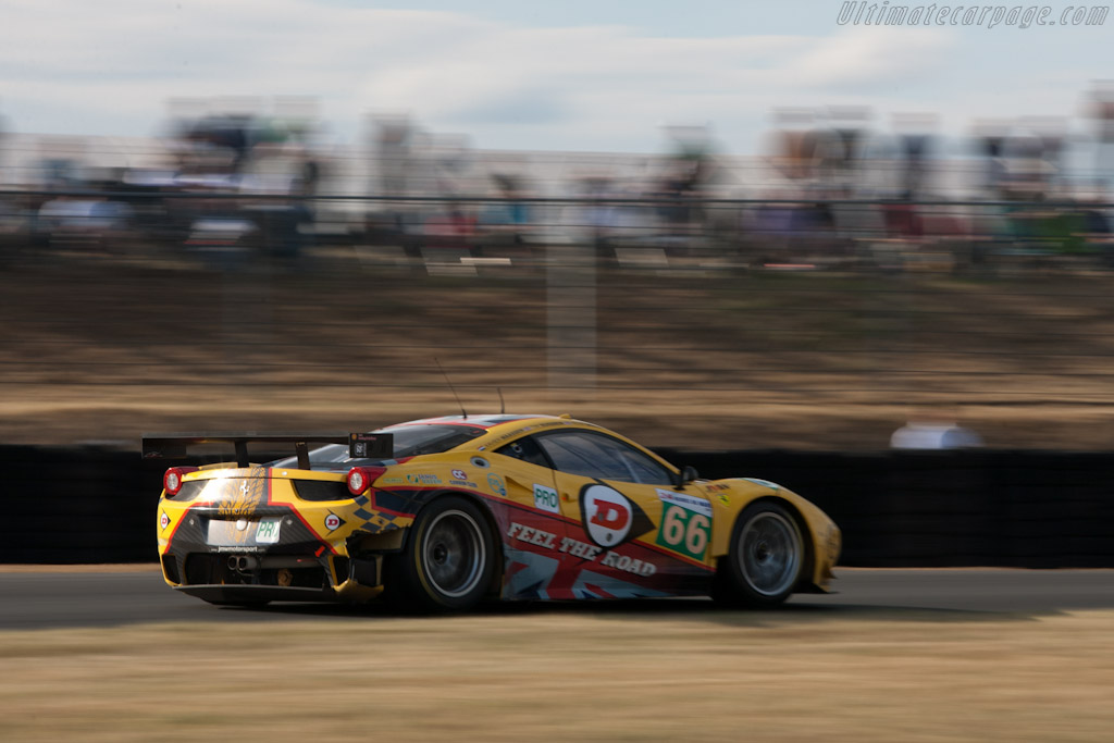 Ferrari 458 Italia GT - Chassis: 2808   - 2011 24 Hours of Le Mans