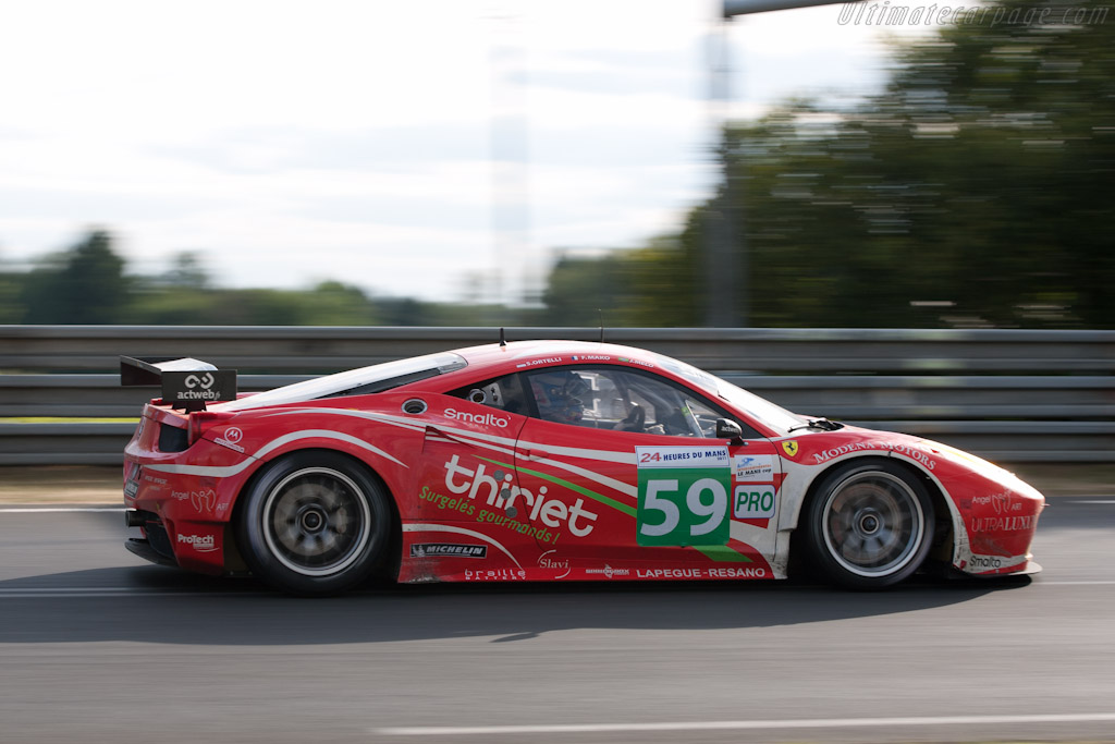 Ferrari 458 Italia GT - Chassis: 2832   - 2011 24 Hours of Le Mans