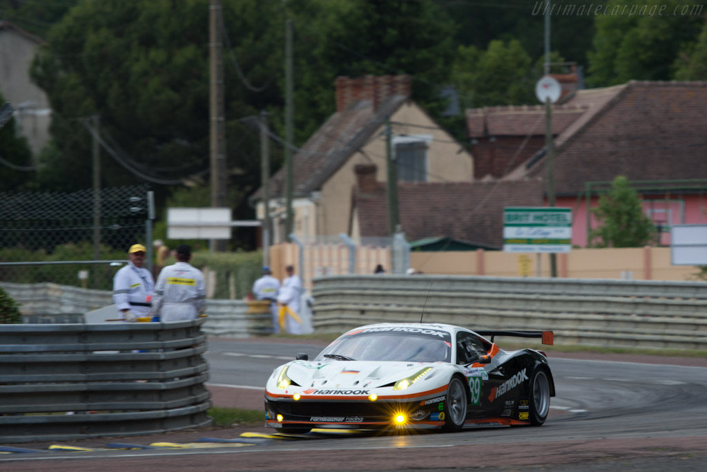 Ferrari 458 Italia GT - Chassis: 2830   - 2011 24 Hours of Le Mans