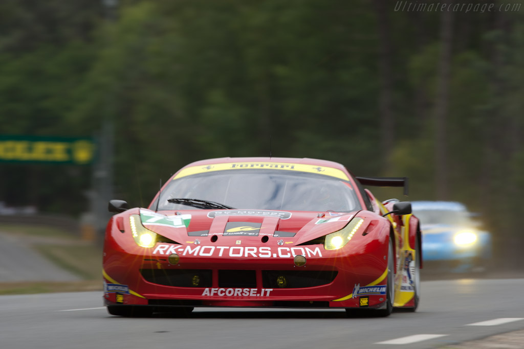 Ferrari 458 Italia GT - Chassis: 2822   - 2011 24 Hours of Le Mans