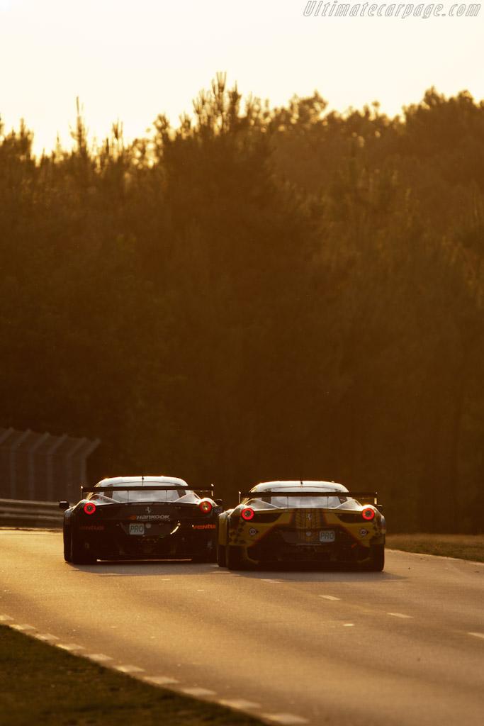 Ferrari 458 Italia GTs - Chassis: 2808   - 2011 24 Hours of Le Mans