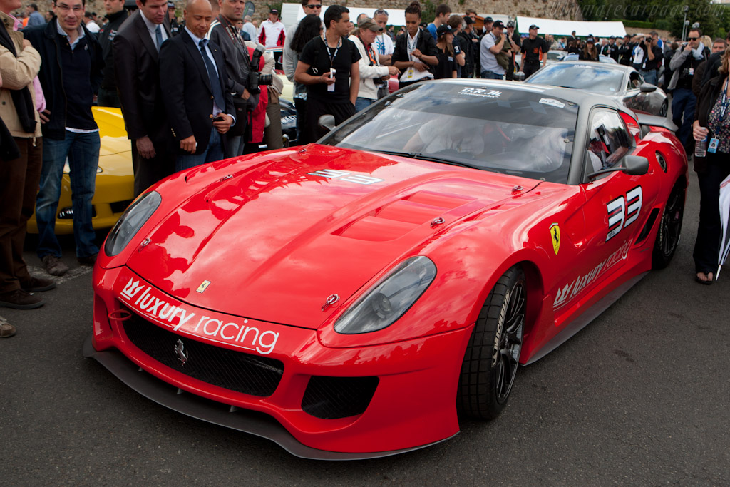 Ferrari 599XX    - 2011 24 Hours of Le Mans