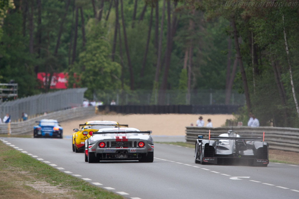 Ford vs Audi - Chassis: JE5-004   - 2011 24 Hours of Le Mans