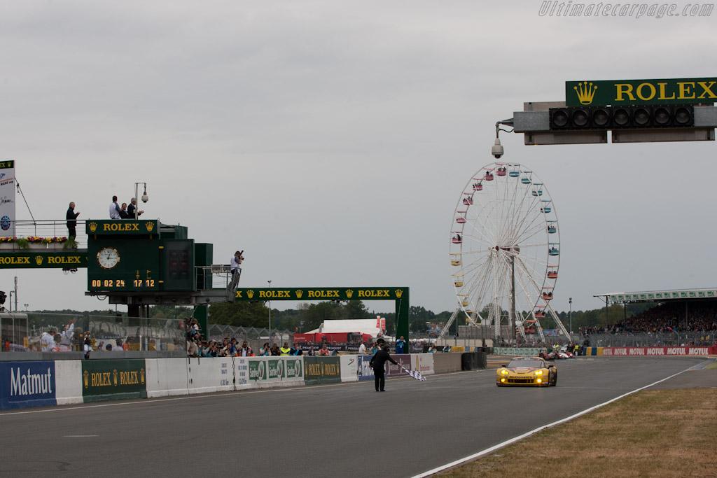 GTE Am winning Larbre Corvette - Chassis: 001   - 2011 24 Hours of Le Mans