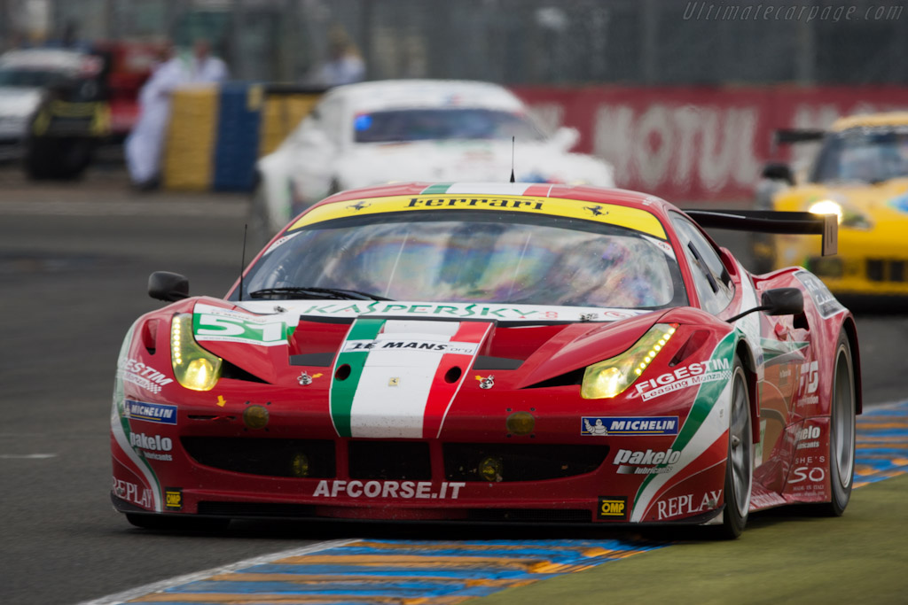 GTE leaders - Chassis: 2826   - 2011 24 Hours of Le Mans