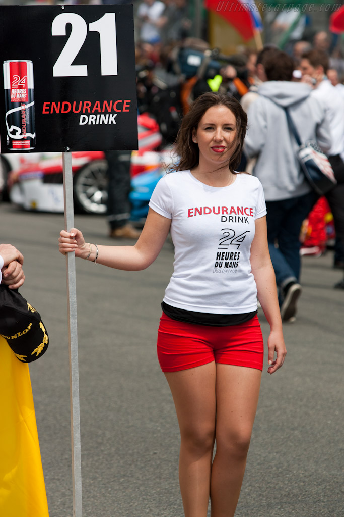 Grid girl    - 2011 24 Hours of Le Mans