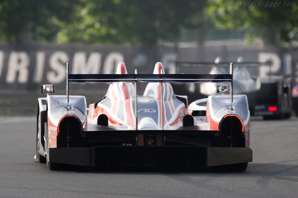 HPD ARX-01d - Chassis: LC70-8   - 2011 24 Hours of Le Mans