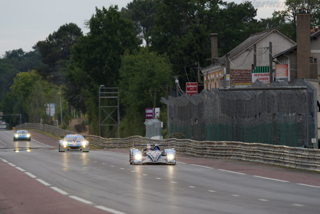 HPD ARX-01d down Hunaudieres - Chassis: LC70-9   - 2011 24 Hours of Le Mans
