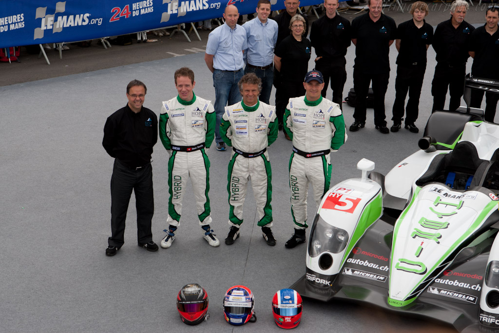 Hope Racing drivers - Chassis: 02   - 2011 24 Hours of Le Mans