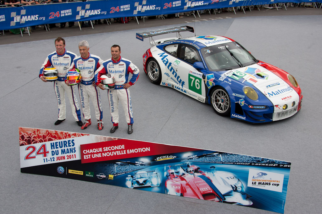 IMSA Performance Porsche - Chassis: WP0ZZZ99Z9S799915   - 2011 24 Hours of Le Mans