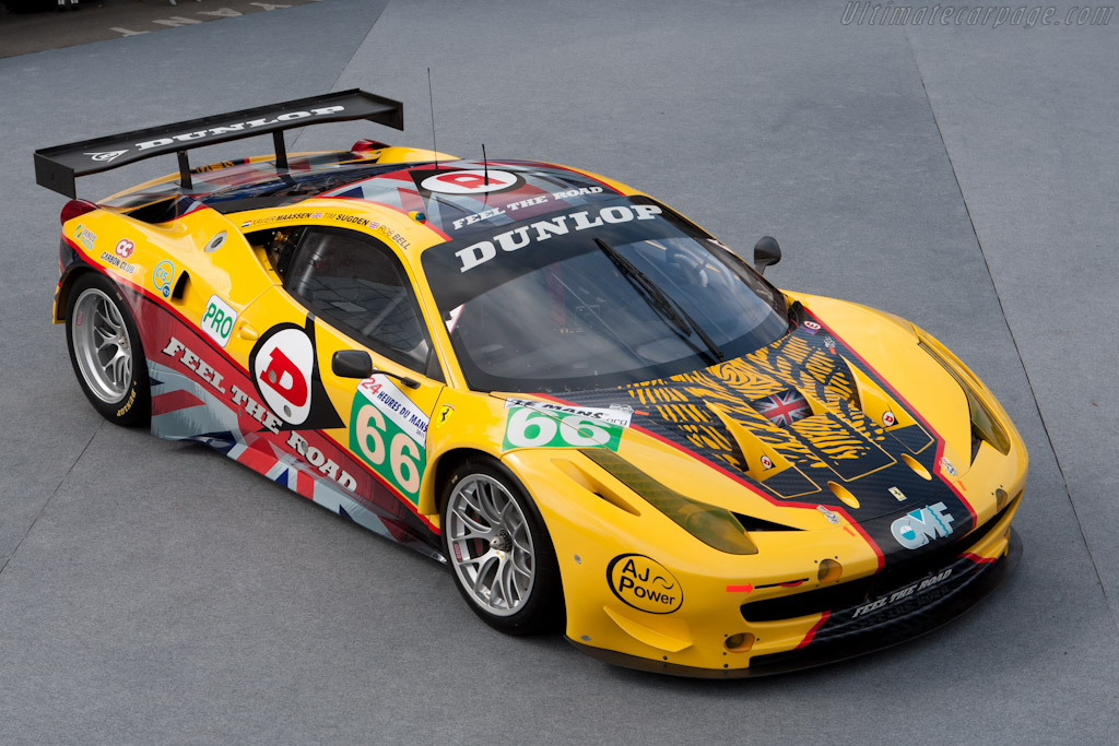 JMW Ferrari - Chassis: 2808   - 2011 24 Hours of Le Mans