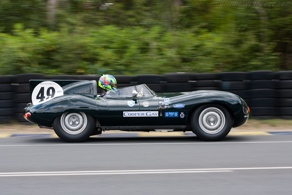 Jaguar D-Type - Chassis: XKD 545   - 2011 24 Hours of Le Mans