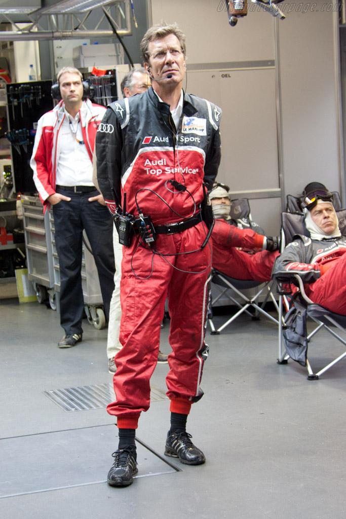 Joest's Ralf Juttner    - 2011 24 Hours of Le Mans