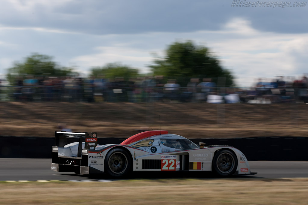Kronos Lola-Aston - Chassis: B1060-HU01S   - 2011 24 Hours of Le Mans