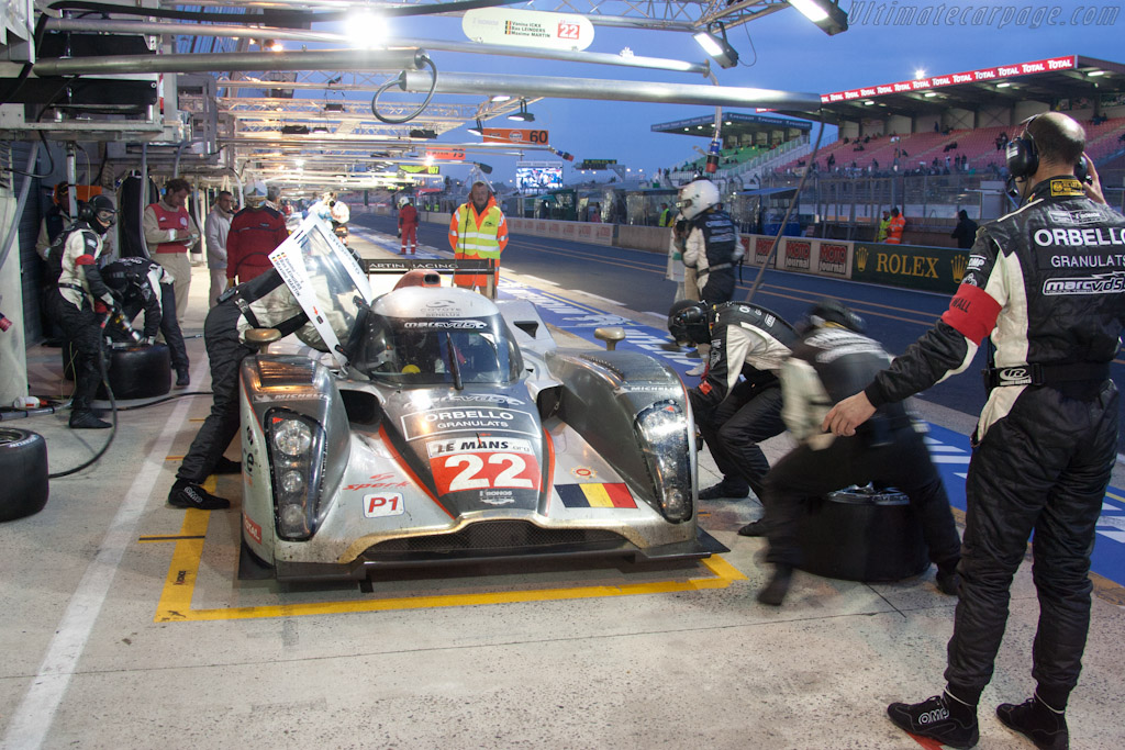 Kronos stop - Chassis: B1060-HU01S  - 2011 24 Hours of Le Mans