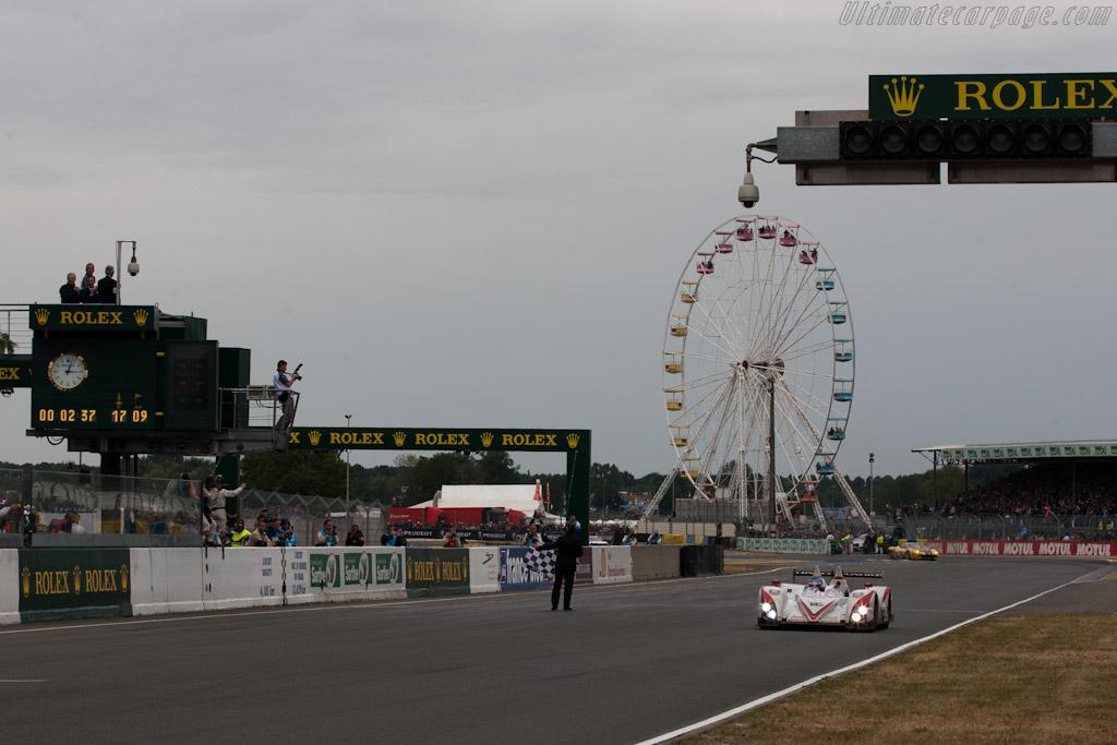 LMP2 winning Greaves Zytek - Chassis: Z11SN-03   - 2011 24 Hours of Le Mans