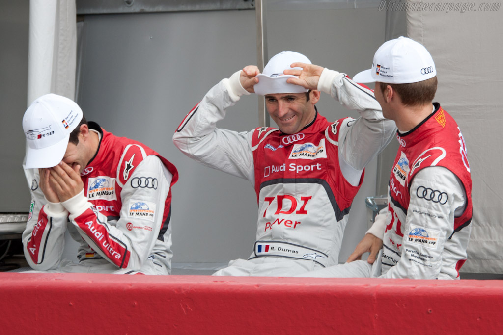 Last year's winners: very relaxed    - 2011 24 Hours of Le Mans