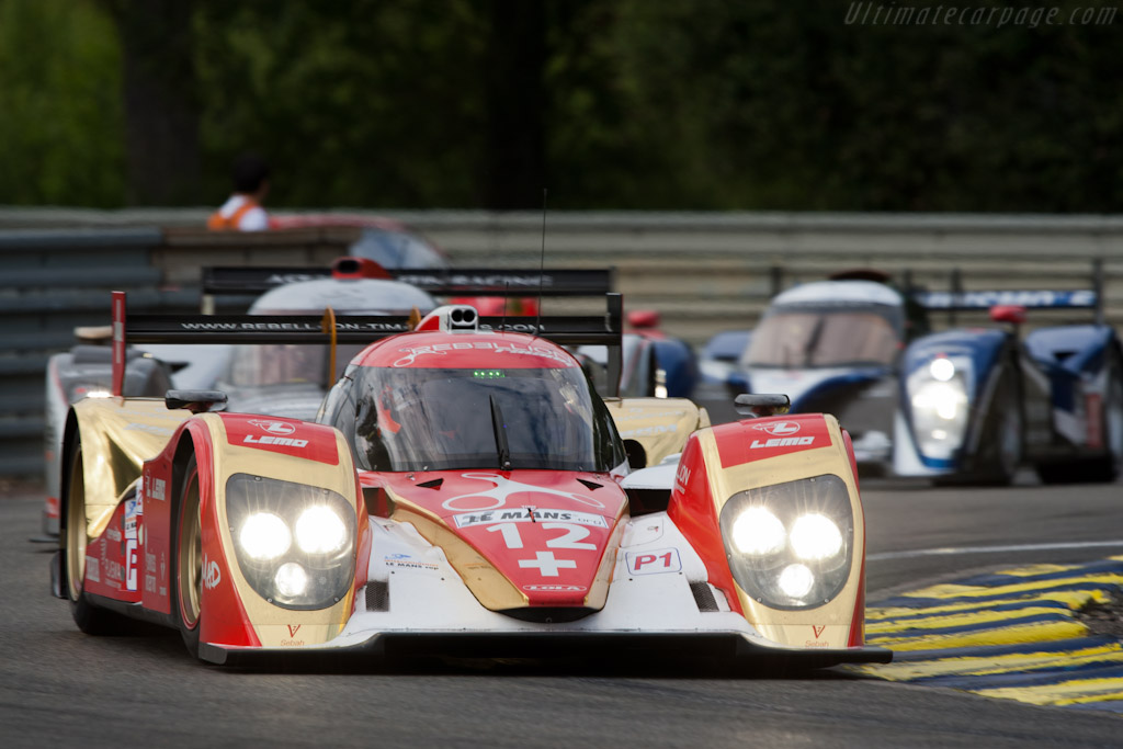 Lola B10/60 Toyota - Chassis: B1060-HU01   - 2011 24 Hours of Le Mans