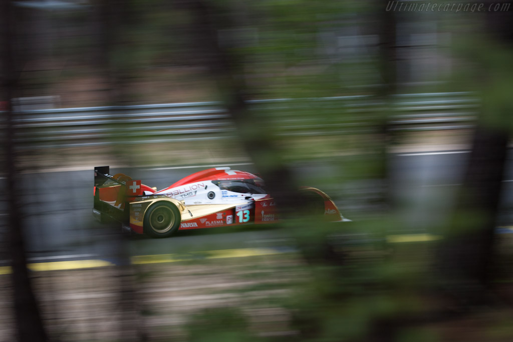 Lola B10/60 Toyota - Chassis: B0860-HU01   - 2011 24 Hours of Le Mans