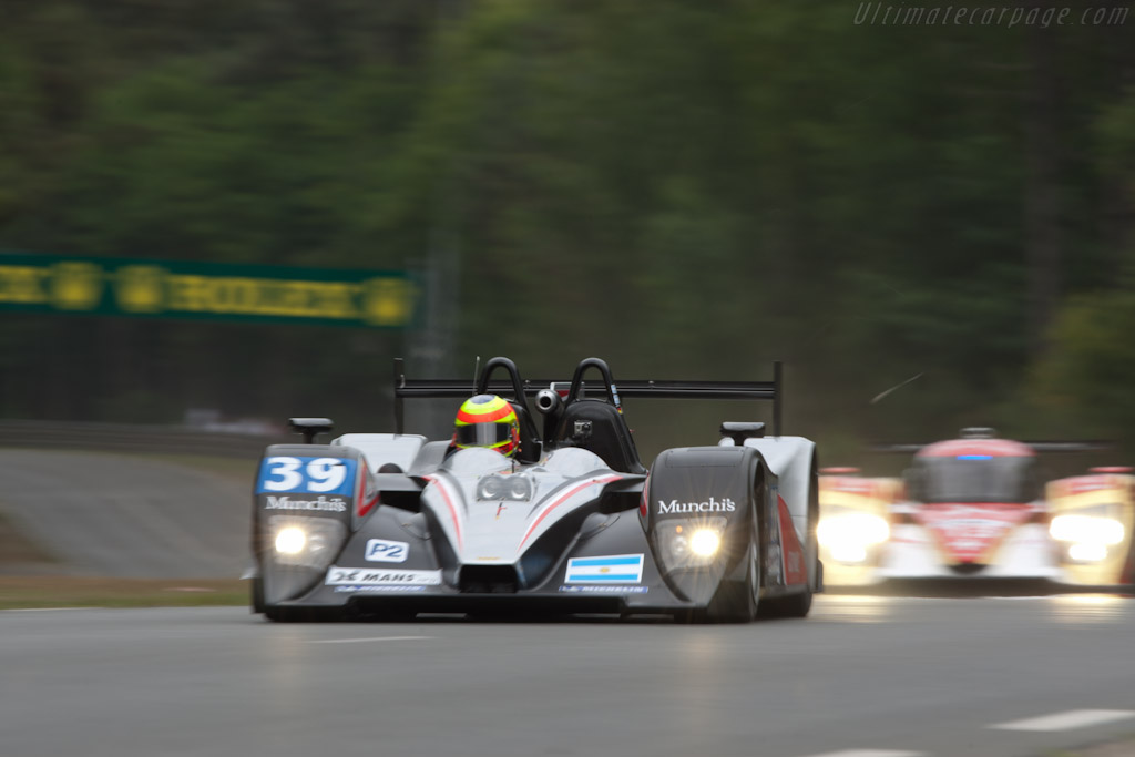Lola B11/40 Judd - Chassis: B1140-HU01   - 2011 24 Hours of Le Mans