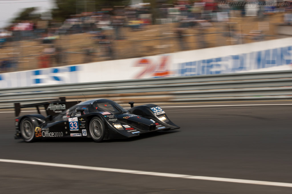 Lola B11/80 HPD - Chassis: B1180-HU05   - 2011 24 Hours of Le Mans