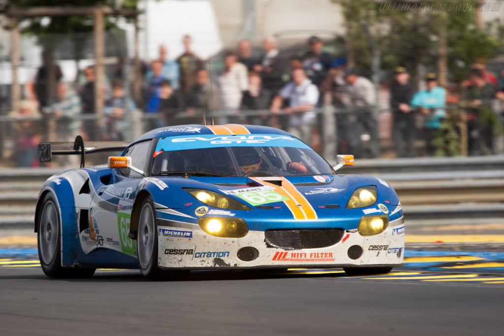 Lotus Evora GTE - Chassis: C001-001  - 2011 24 Hours of Le Mans