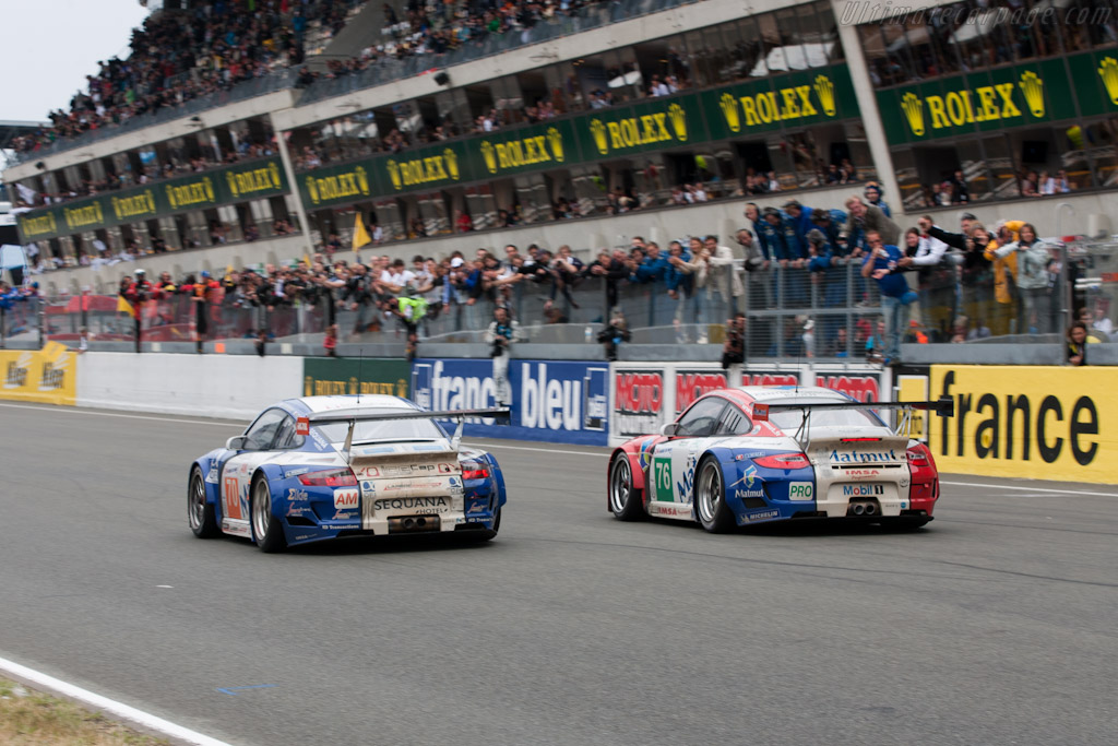 Matmut Porsches - Chassis: WP0ZZZ99Z9S799916   - 2011 24 Hours of Le Mans