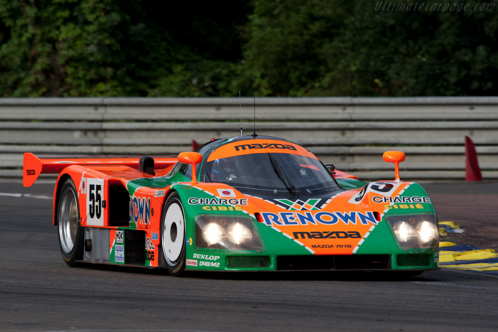 Mazda 787B - Chassis: 787B - 002   - 2011 24 Hours of Le Mans