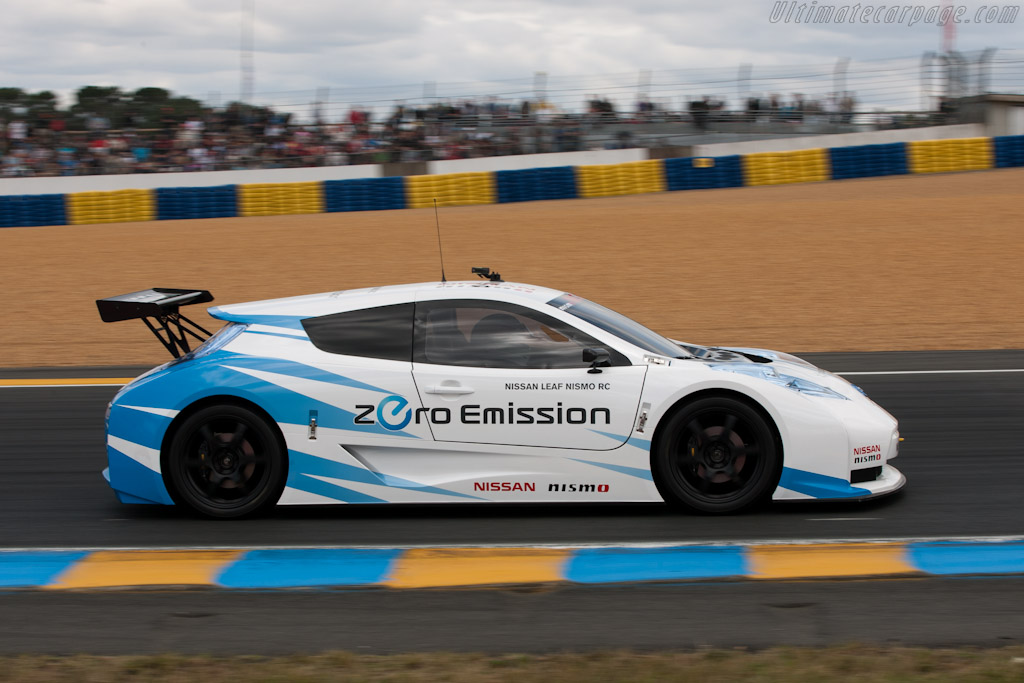 Nissan Leaf Nismo RC    - 2011 24 Hours of Le Mans