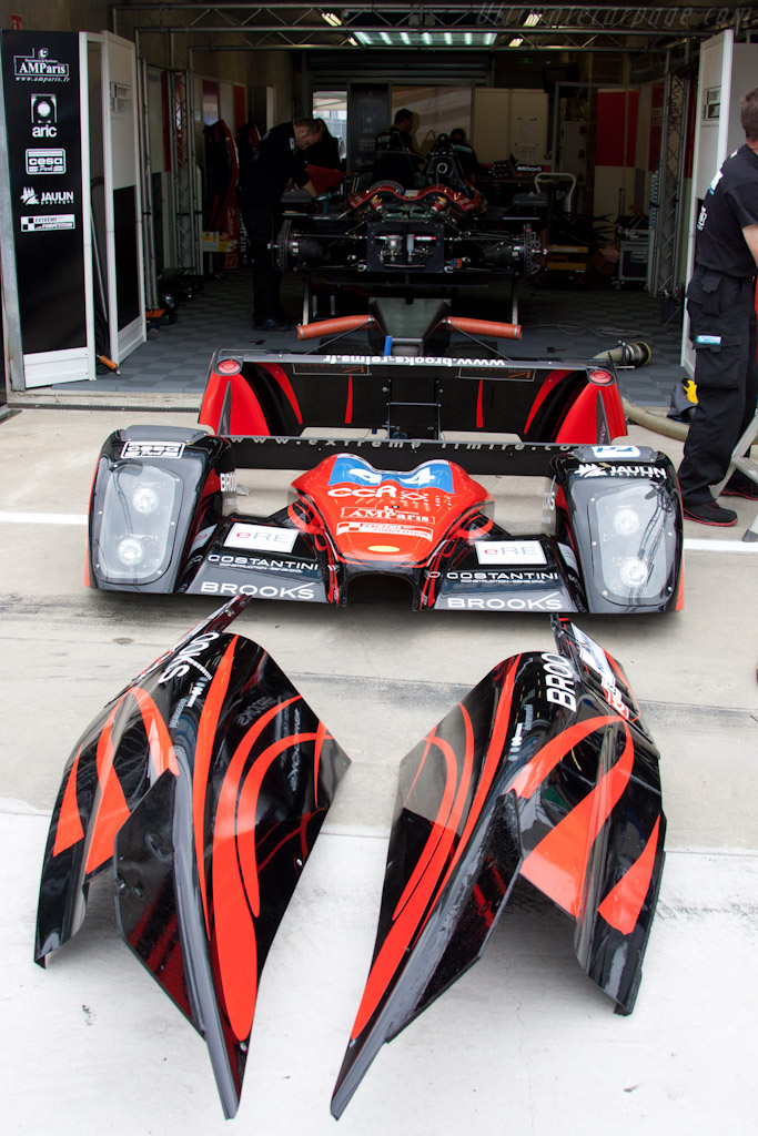 Norma in bits - Chassis: 02   - 2011 24 Hours of Le Mans