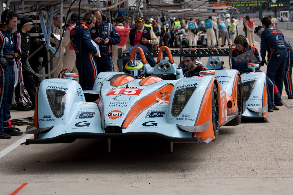 Oak-Pescarolo 01 Judd - Chassis: 01-07   - 2011 24 Hours of Le Mans