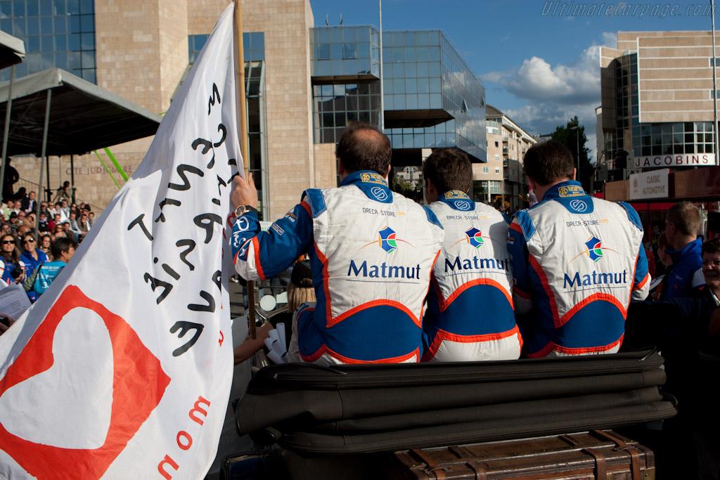 Oreca drivers    - 2011 24 Hours of Le Mans