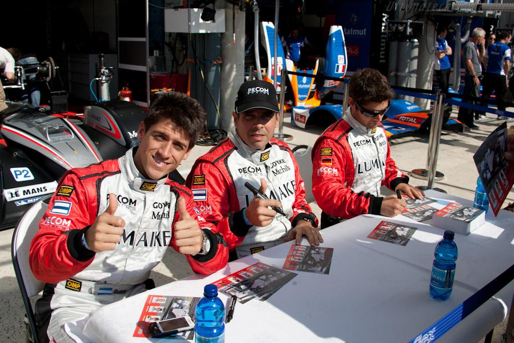 Pecom drivers   - 2011 24 Hours of Le Mans