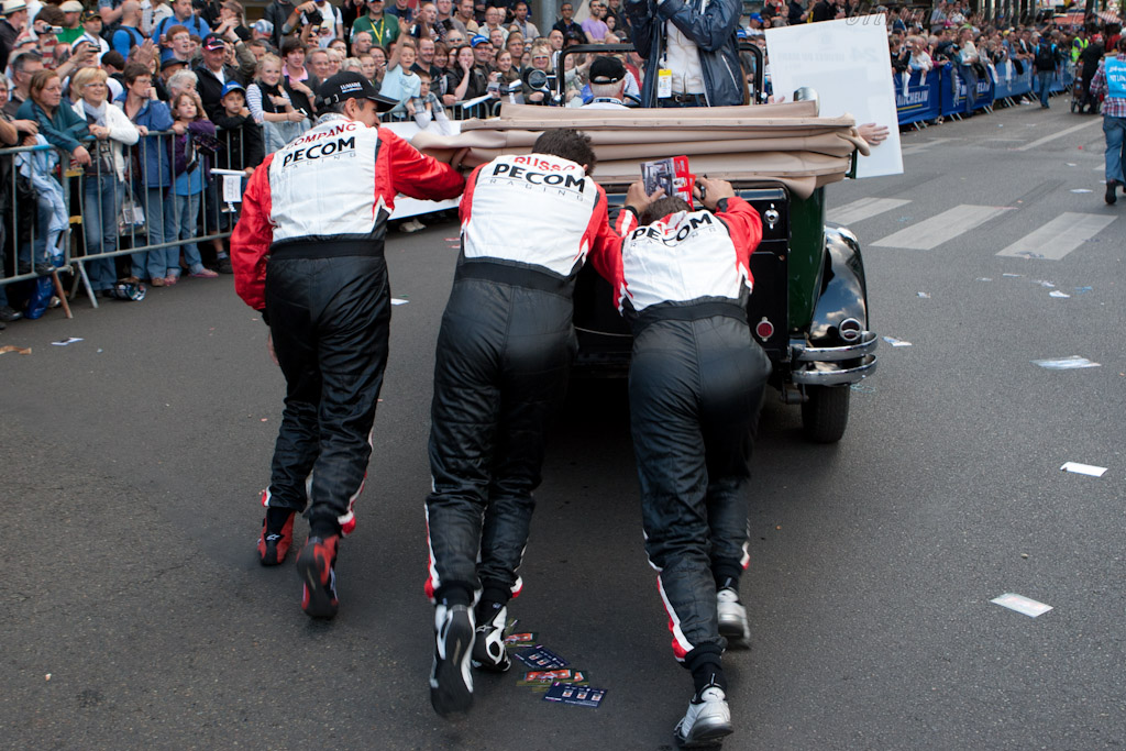 Pecom's car broke down    - 2011 24 Hours of Le Mans