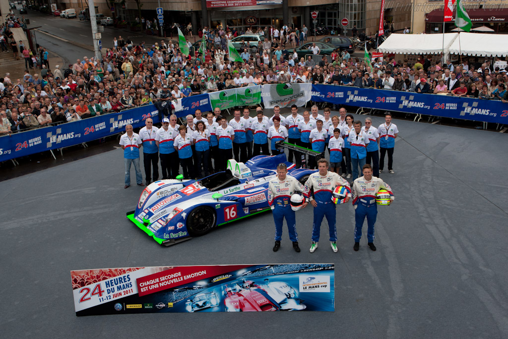Pescarolo Team - Chassis: 01-08   - 2011 24 Hours of Le Mans