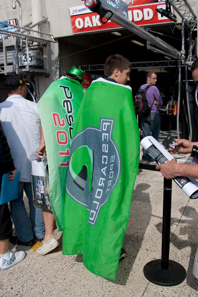 Pescarolo fan    - 2011 24 Hours of Le Mans