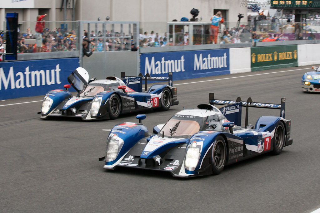 Peugeot 908s - Chassis: 908-04   - 2011 24 Hours of Le Mans