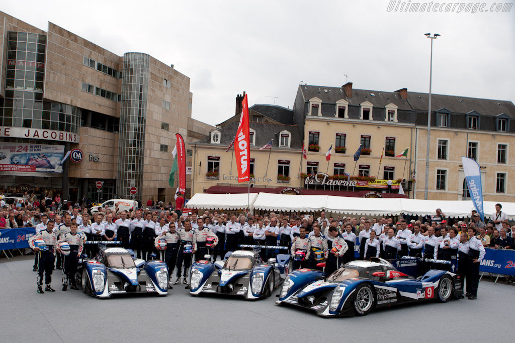 Peugeot - Chassis: 908-03   - 2011 24 Hours of Le Mans